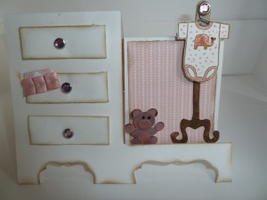 Baby Dresser Side-Step Card